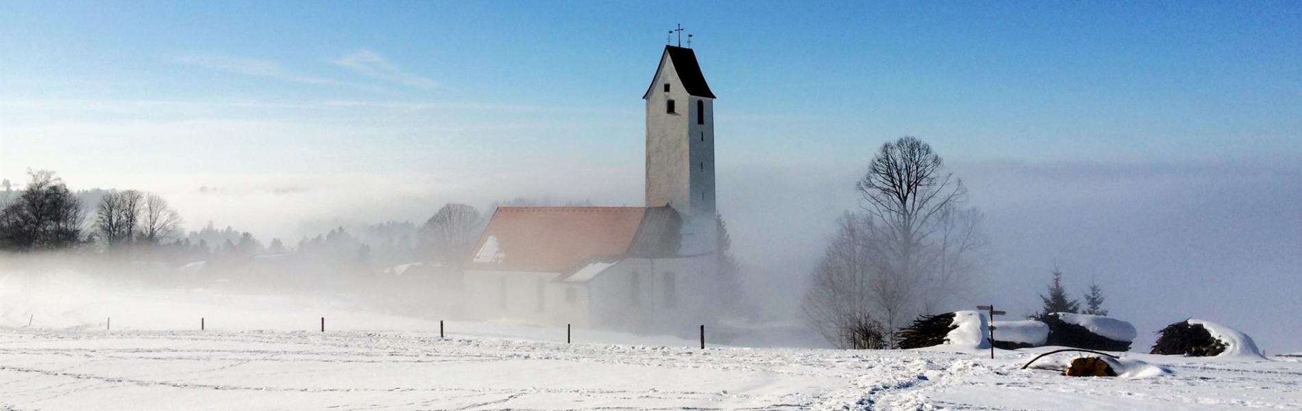 Winterlandschaft Scheidegg