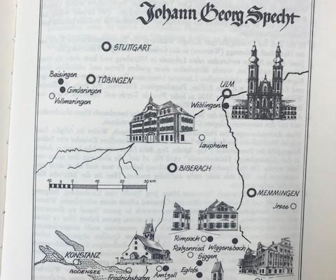 Auszug aus dem Buch über den Baumeister Johann Georg Specht